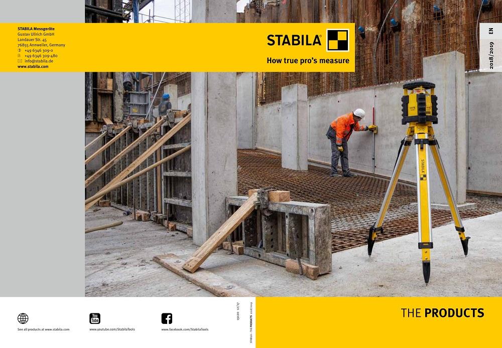 Catalog mare STABILA 2018 2019